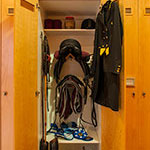 Personalized Tack Locker